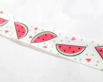 Watermelon Washi Tape -  15mm x 10m