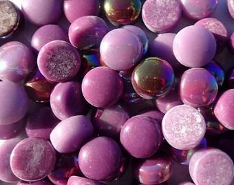 Berry Mix Glass Drops Mosaic Tiles - 100 grams