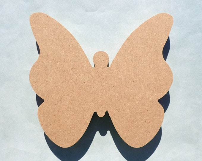 Butterfly Plaque - Unfinished MDF