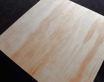 """Unfinished Wood Wall Panel - 8""""x8""""x1"""" - Use as a Mosaic Base Decoupage Painting - Darice"""