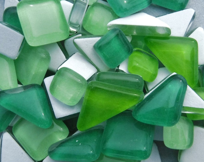 Fiddlehead Glass Puzzle Tiles - 100 grams