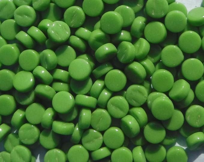 Grass Green MINI Glass Drops Mosaic Tiles - 50 grams