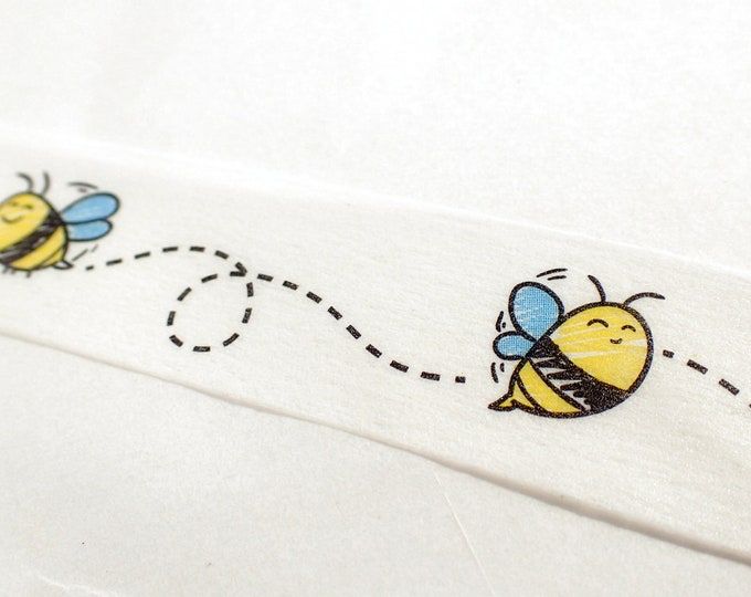 Bees Washi Tape -  15mm x 10m