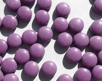 Purple Glass Gems - 100 grams