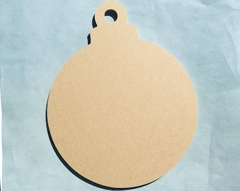 Ornament Plaque - Unfinished MDF Thin