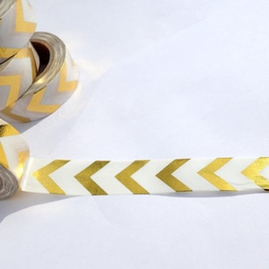 Easter Egg Foil Washi Tape Paper Tape Great for Scrapbooking Paper Crafts and Mixed Media 15mm x 10m Pastel Eggs with Gold