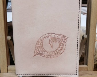 Dragon's Eye genuine leather journal.  You pick the colour!