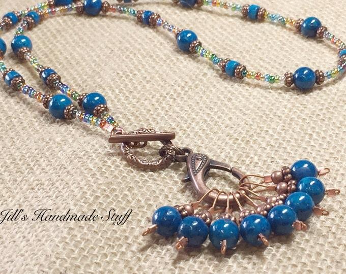 Stitch Marker Necklaces
