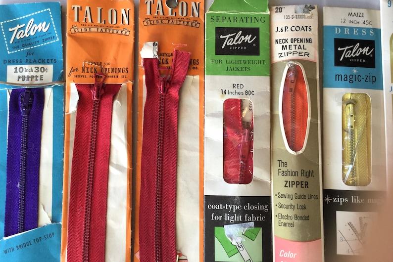 Zipper guide vintage Vintage Clothing