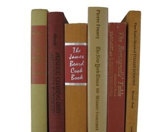 Old Cookbook Set,  Vintage Kitchen Decor, Country Decor, Country Barn Style,  Farmhouse Kitchen