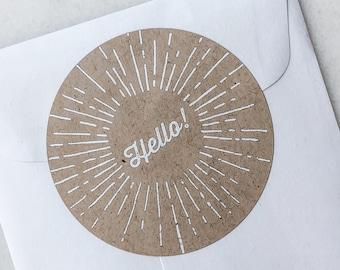 Hello! Sticker - Sunny Days