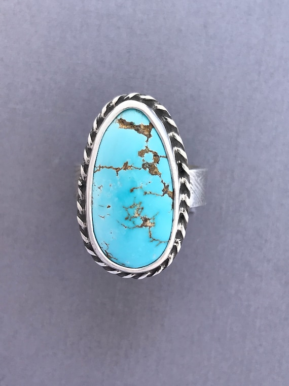 Robins egg blue turquoise ring!