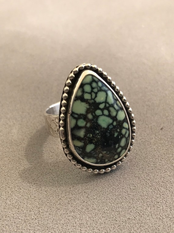 Large varicite statement ring