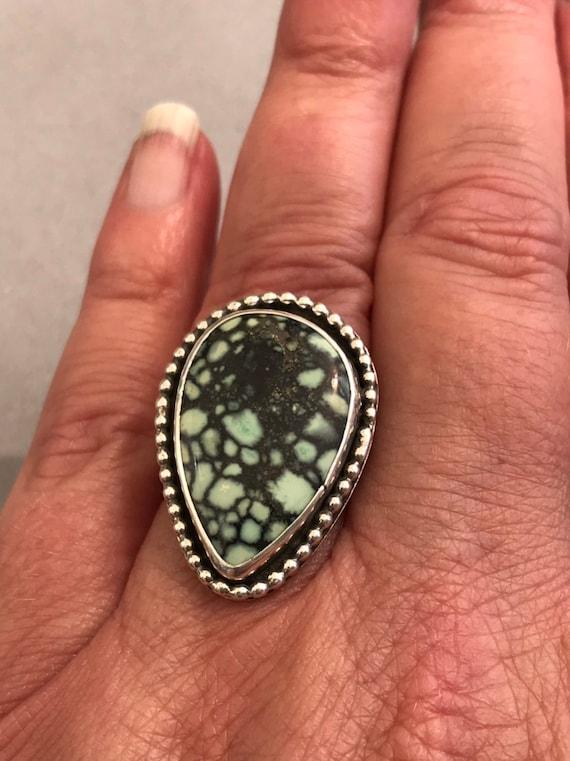 Large Saguaro varicite statement ring