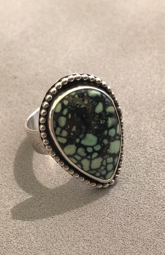 Large Saguaro varicite statement ring
