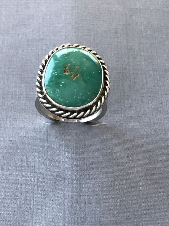 Large Royston turquoise statement ring
