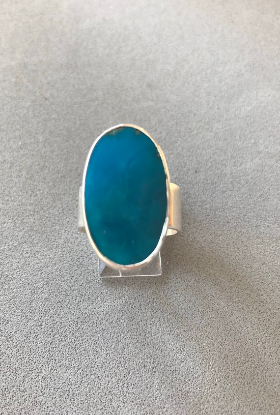 Stabilized Sleeping Beauty Turquoise RIng