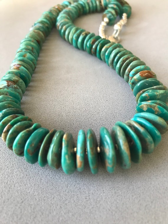 Mexican and Hubi Turquoise Necklace