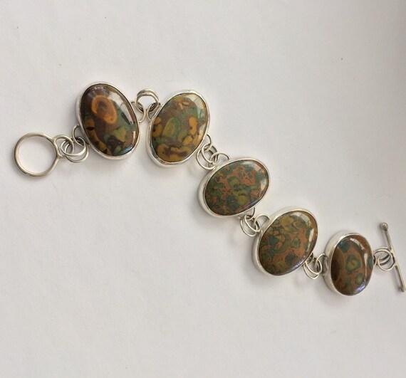 Fruit Jasper bracelet