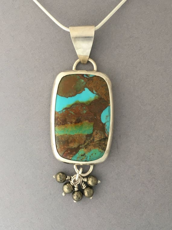 AZ turquoise and copper