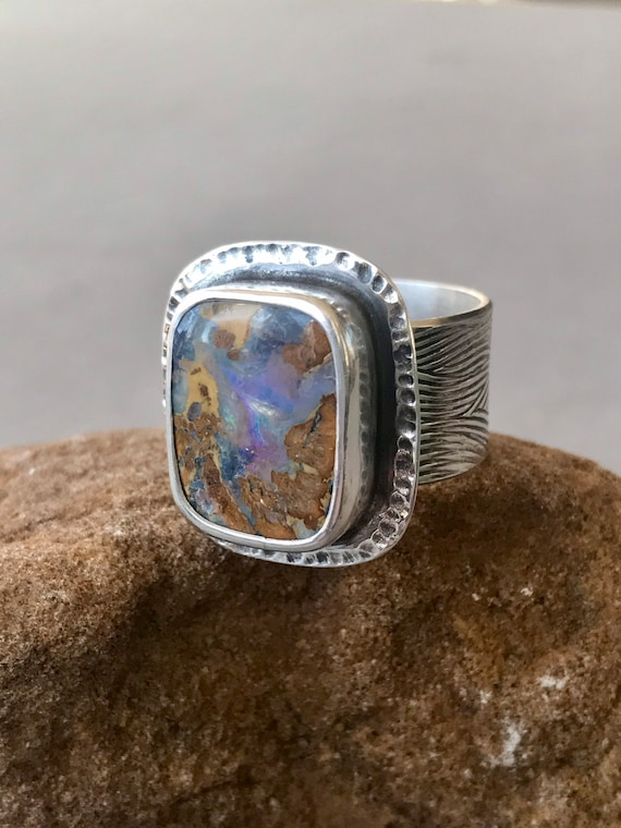 Picture Opal ring