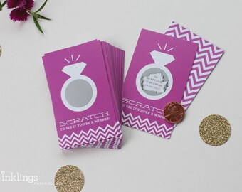 GIVEWAYS - Ca lotto scratchers prizes for bridal shower