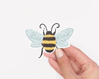 "3"" Vinyl Sticker // Bee Kind"