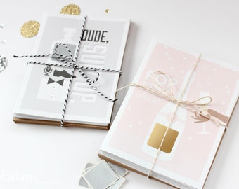 """12 Scratch-off """"Be My Bridesmaid"""" and """"Be My Groomsman"""" Cards // Bridesmaid Box, Bridesmaid Proposal, Will You Be My, Asking Wedding Party"""