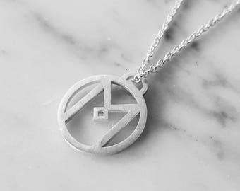 Initial necklace, personalized jewelry, minimalist necklace, personalize necklace, letter necklace, monogrammed necklace, initial jewelry