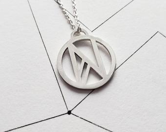 Cadeau maitresse, Personalized letter necklace, 1st anniversary gift, 5th anniversary gift, 2nd anniversary gift, 3rd 8th anniversary gift