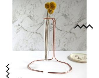Bud vase, Tillandsia air plant holders, geometric planter, plant stand, modern planter, tillandsia holder, air plant planter