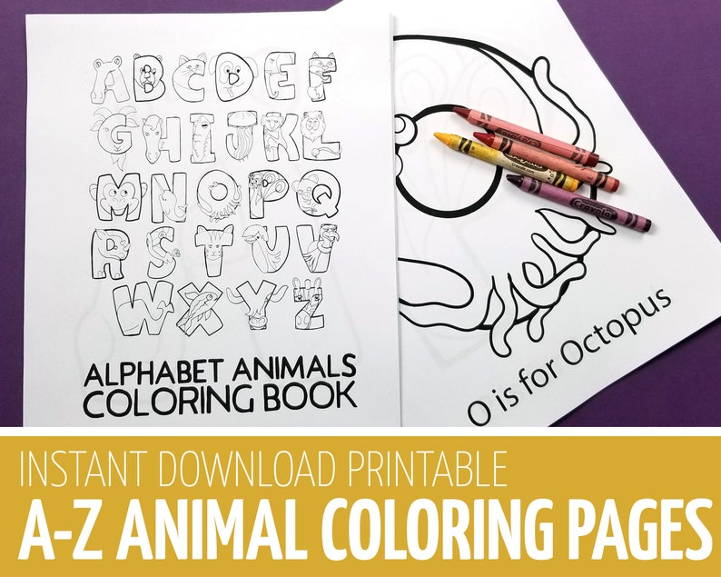 Alphabet Coloring Pages  Crafts for Toddlers and Preschool  image 0