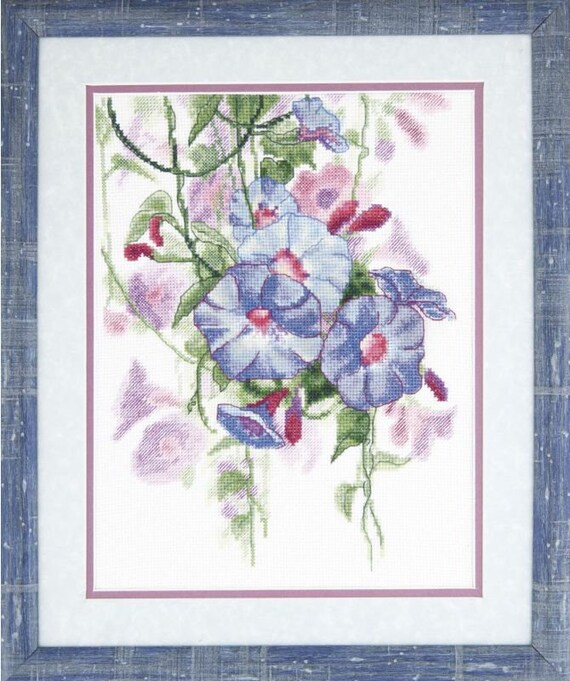 """sea Counted Cross Stitch Kit OVEN 1028 /""""Summer poppies/"""""""