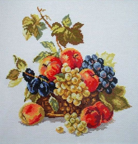 Counted Cross Stitch Kit Alisa-Perroquets