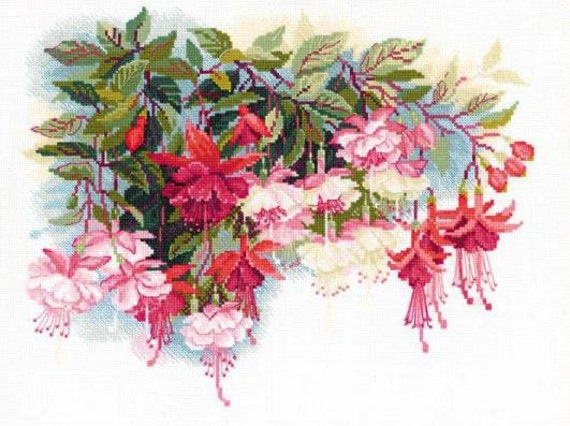 Counted Cross Stitch Kit OVEN Orchids