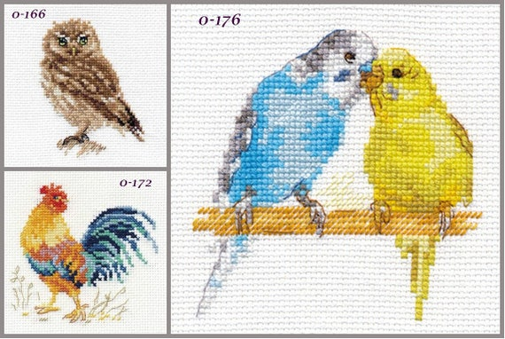 Rooster Alisa Cross Stitch Kit