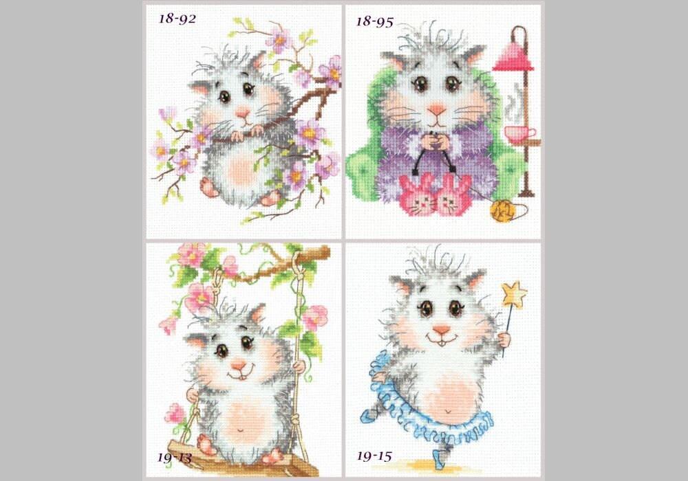 Magic needle  90-01  Ma joie  Kit  Broderie  Point de Croix compté