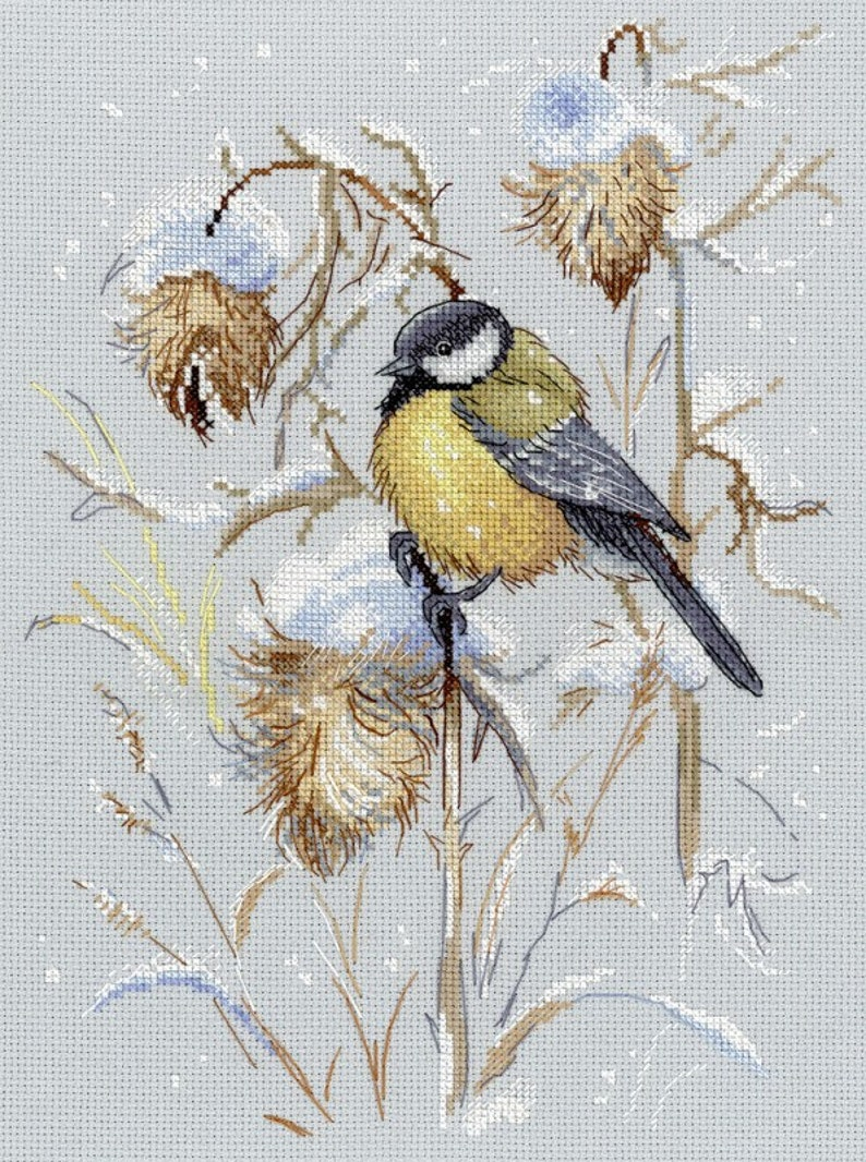 Magnets Counted Cross Stitch Kit MP STUDIO Gifts of Autumn