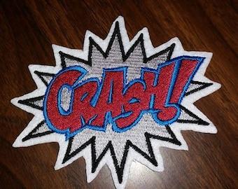 Crash Patch, super hero,comic