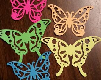 Butterflies card stock