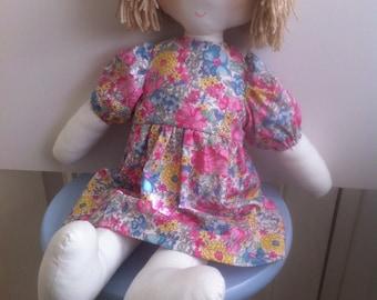 Rag Doll Sewing Pattern