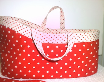 Doll's Carrycot Sewing Pattern - Doll Carrier