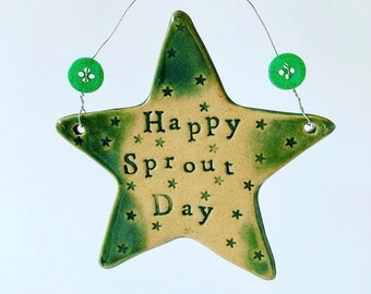 Happy Sprout Day star