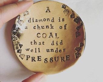 Under pressure... dish