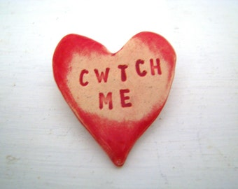 Cwtch Me Brooch