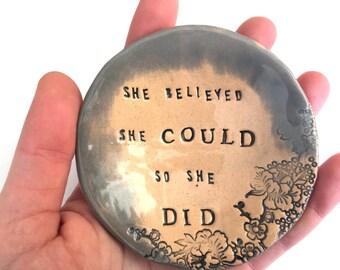 She believed Little Dish.