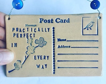 Practically Perfect Postcard