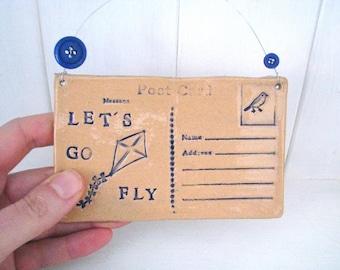 Ceramic Postcards