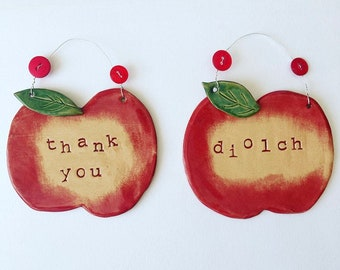 Diolch / Thank You apple