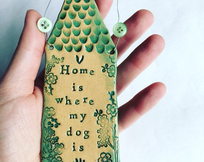 Featured listing image: Home is where my dog is